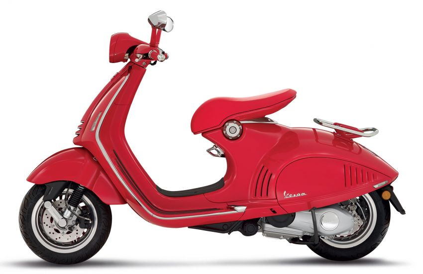 Vespa limited edition scooters in Malaysia – Vespa 946 (RED), Sprint Carbon and Sei Giorni, from RM17,400 Image #861492