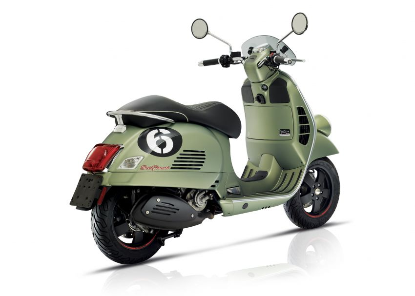 Vespa limited edition scooters in Malaysia – Vespa 946 (RED), Sprint Carbon and Sei Giorni, from RM17,400 Image #861516