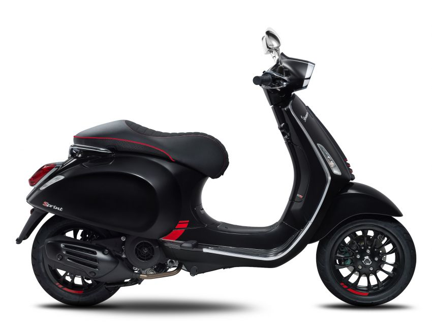 Vespa limited edition scooters in Malaysia – Vespa 946 (RED), Sprint Carbon and Sei Giorni, from RM17,400 Image #861507