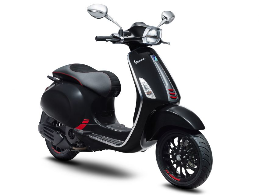Vespa limited edition scooters in Malaysia – Vespa 946 (RED), Sprint Carbon and Sei Giorni, from RM17,400 Image #861511