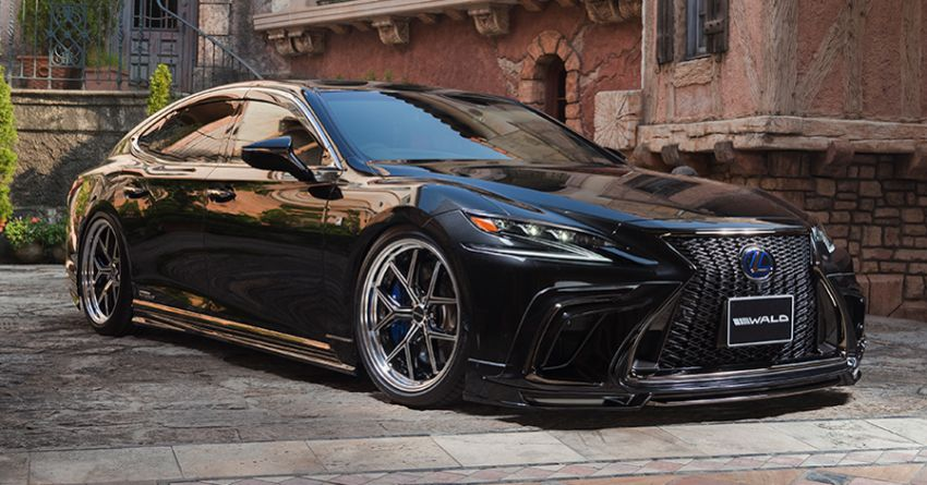 Lexus LS gets sinister makeover by Wald International Image #859920