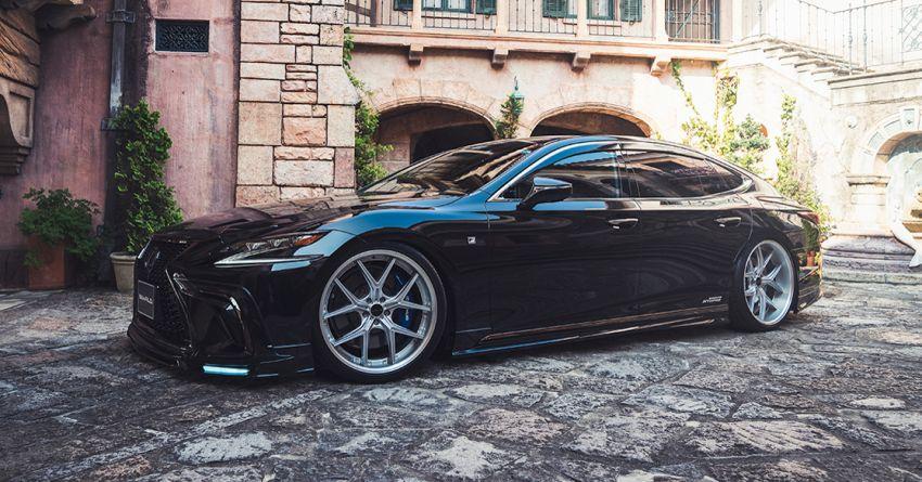 Lexus LS gets sinister makeover by Wald International Image #859922