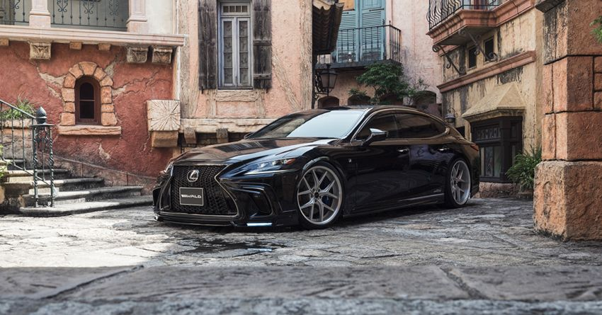 Lexus LS gets sinister makeover by Wald International Image #859924