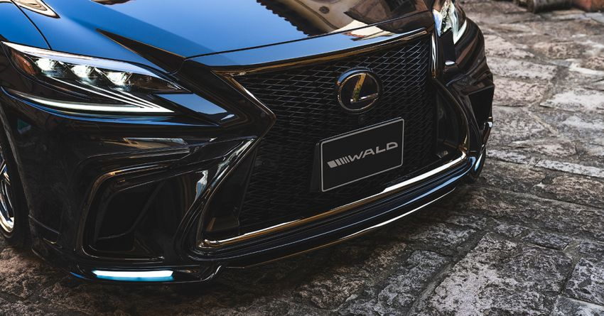 Lexus LS gets sinister makeover by Wald International Image #859926