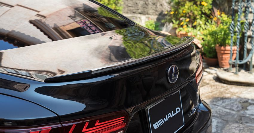 Lexus LS gets sinister makeover by Wald International Image #859927