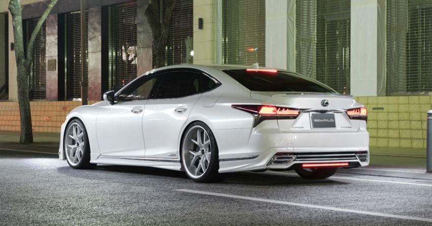 Lexus LS gets sinister makeover by Wald International Image #859911