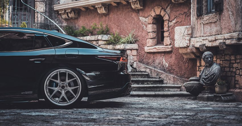 Lexus LS gets sinister makeover by Wald International Image #859929