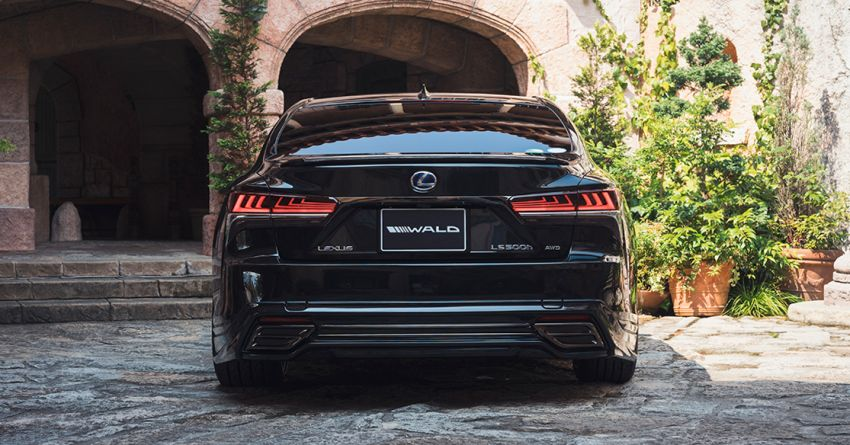Lexus LS gets sinister makeover by Wald International Image #859930