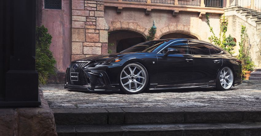 Lexus LS gets sinister makeover by Wald International Image #859931