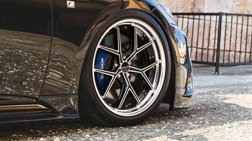 Lexus LS gets sinister makeover by Wald International Image #859932