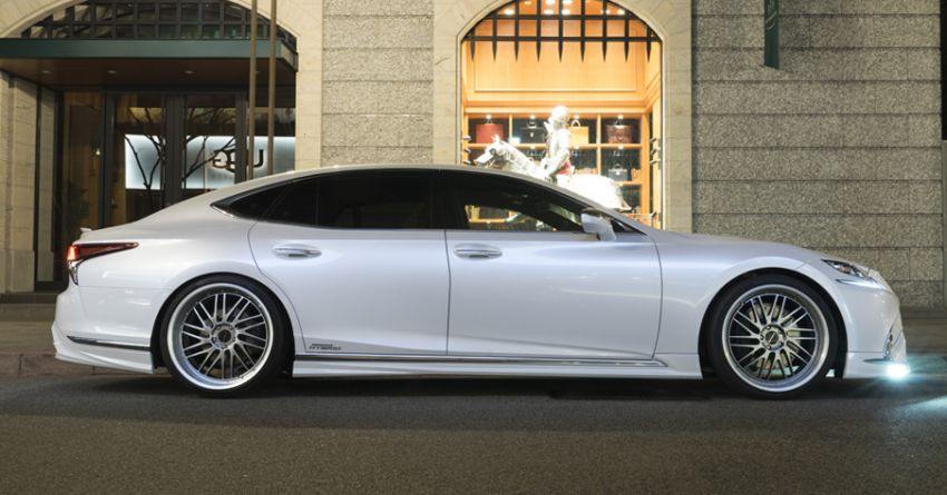 Lexus LS gets sinister makeover by Wald International Image #859913