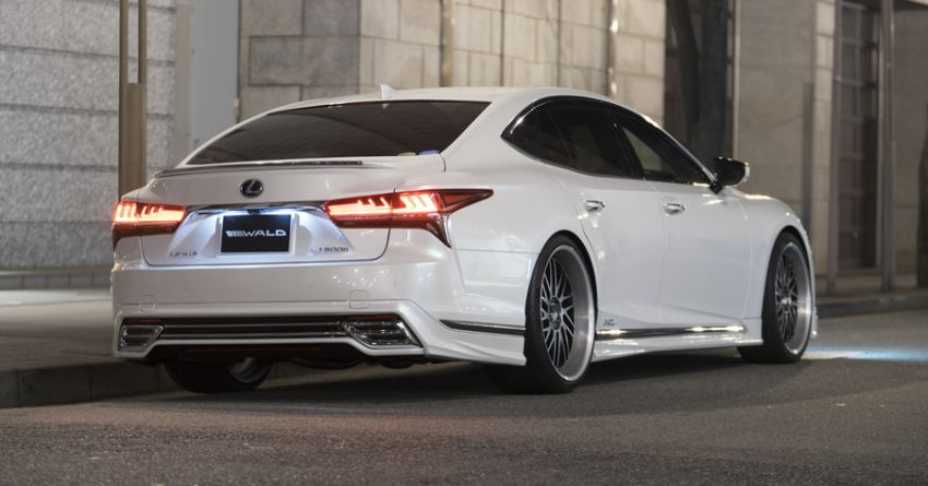 Lexus LS gets sinister makeover by Wald International Image #859914