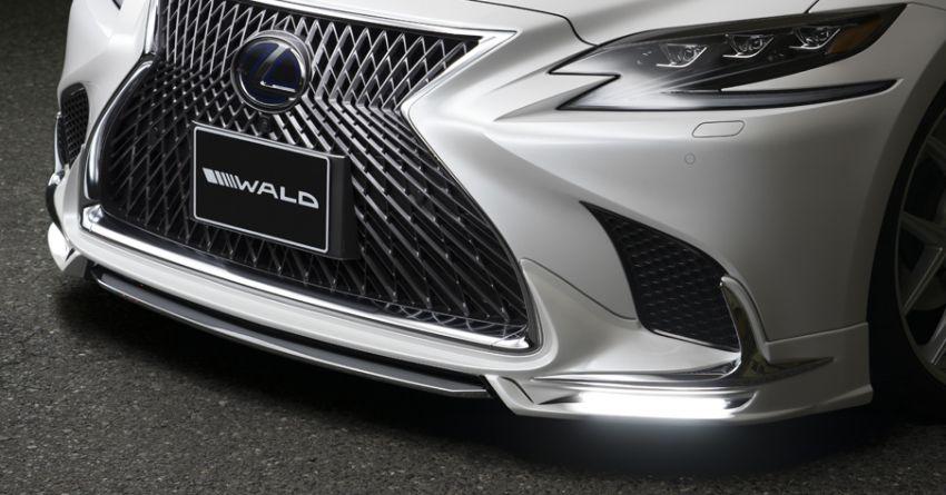 Lexus LS gets sinister makeover by Wald International Image #859916