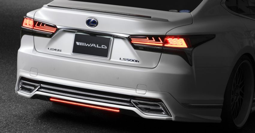 Lexus LS gets sinister makeover by Wald International Image #859918