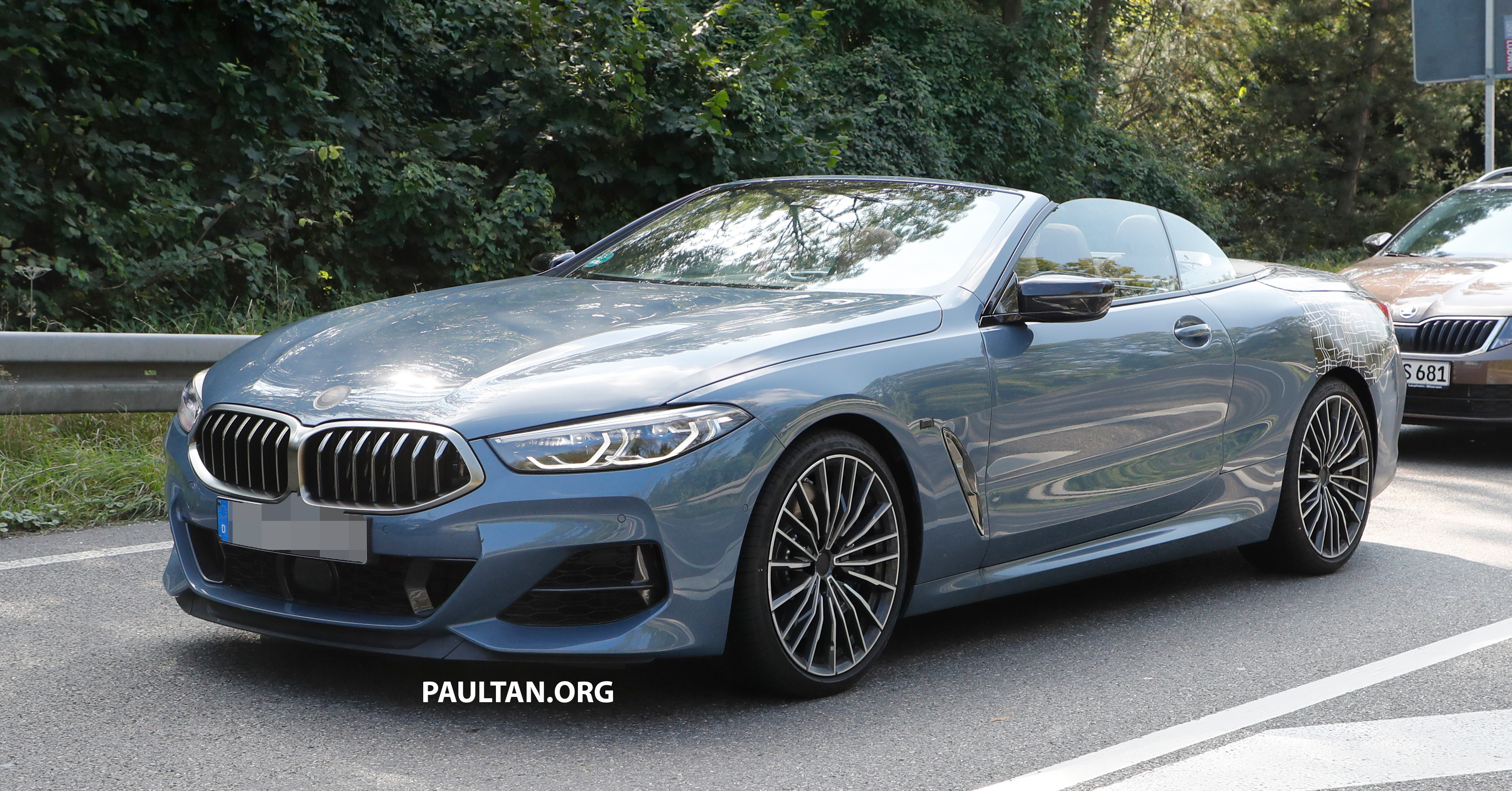 Spied 2019 Bmw 8 Series Cabriolet Reveals More Skin Paul Tan