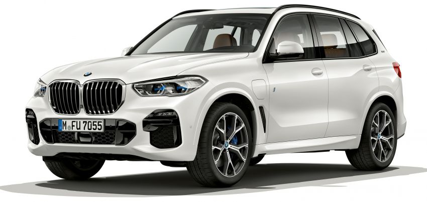 BMW X5 xDrive45e iPerformance plug-in hybrid announced – 2019 debut, 80 km pure electric range Image #858940
