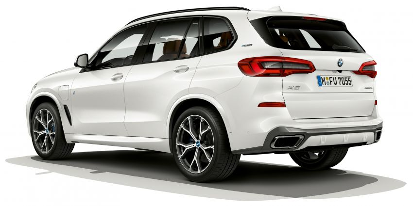 BMW X5 xDrive45e iPerformance plug-in hybrid announced – 2019 debut, 80 km pure electric range Image #858942