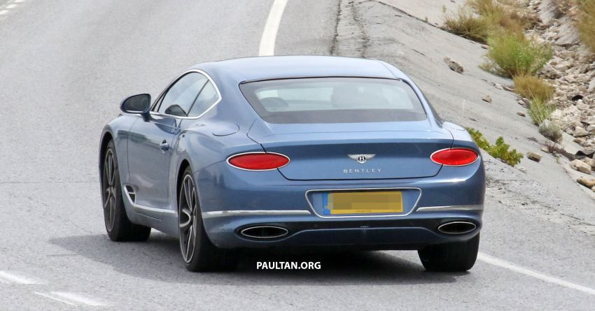 SPIED: Bentley Continental GT plug-in hybrid spotted! Image #862194