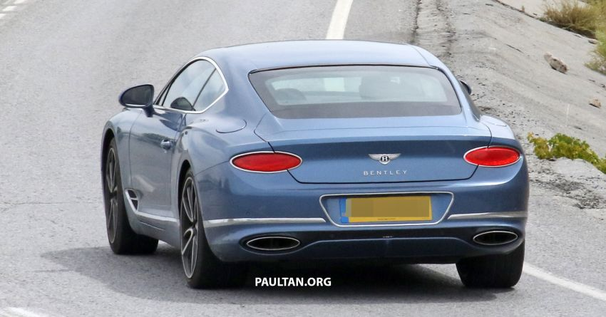SPIED: Bentley Continental GT plug-in hybrid spotted! Image #862195