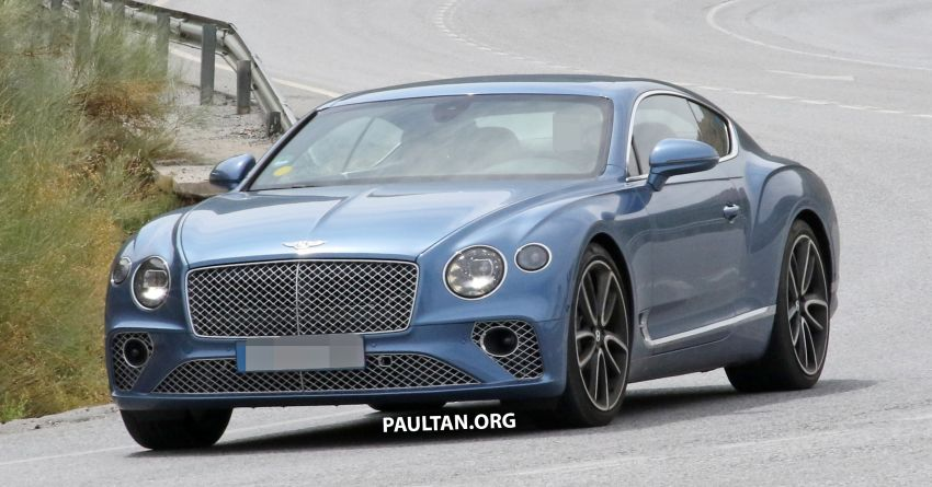 SPIED: Bentley Continental GT plug-in hybrid spotted! Image #862186