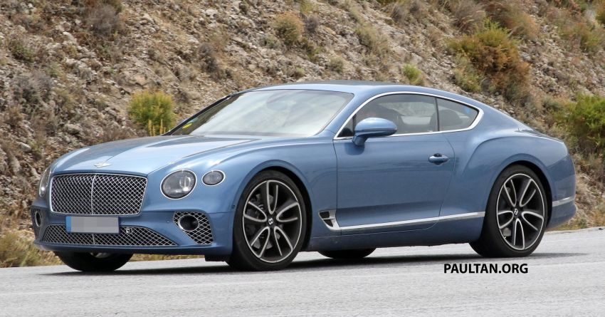 SPIED: Bentley Continental GT plug-in hybrid spotted! Image #862188