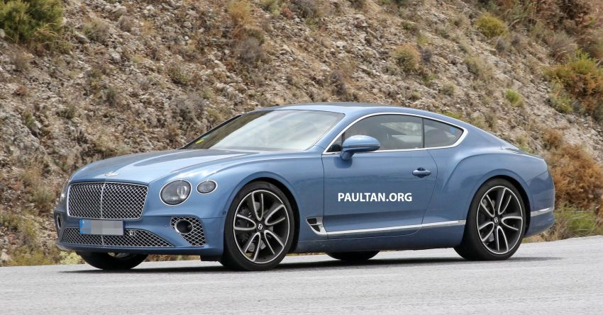 SPIED: Bentley Continental GT plug-in hybrid spotted! Image #862189