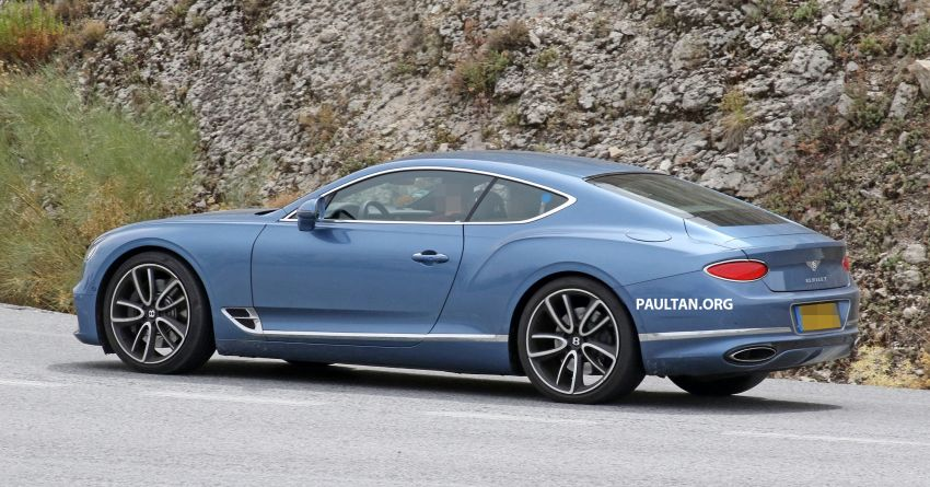 SPIED: Bentley Continental GT plug-in hybrid spotted! Image #862190