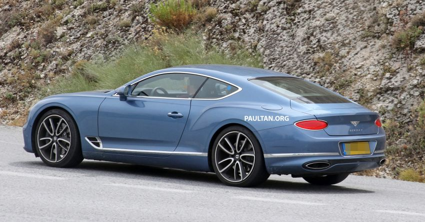 SPIED: Bentley Continental GT plug-in hybrid spotted! Image #862191