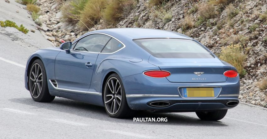 SPIED: Bentley Continental GT plug-in hybrid spotted! Image #862192