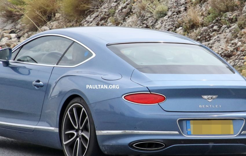 SPIED: Bentley Continental GT plug-in hybrid spotted! Image #862193