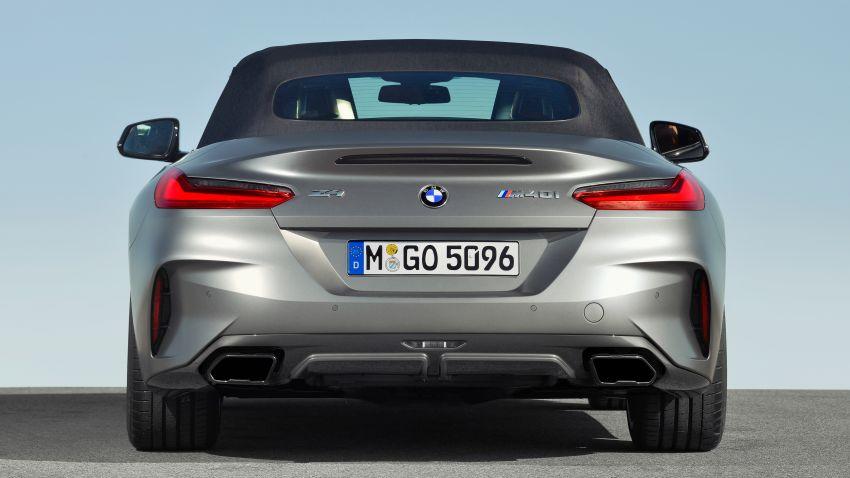 BMW Z4 G29 2019 – info penuh didedah, tiga varian Image #863020