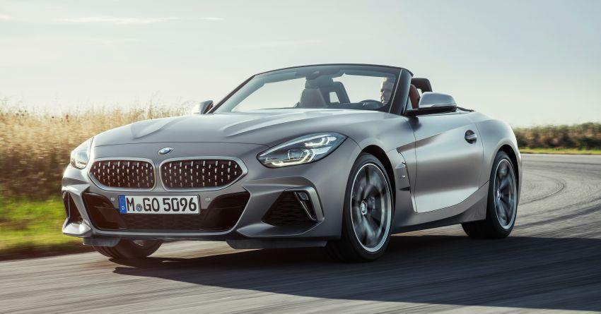 BMW Z4 G29 2019 – info penuh didedah, tiga varian Image #863021