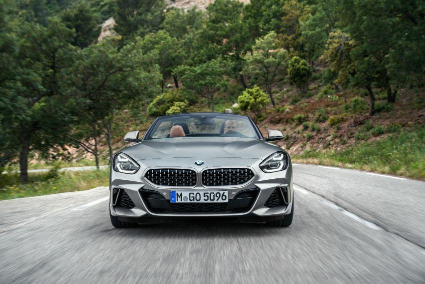 BMW Z4 G29 2019 – info penuh didedah, tiga varian Image #863026
