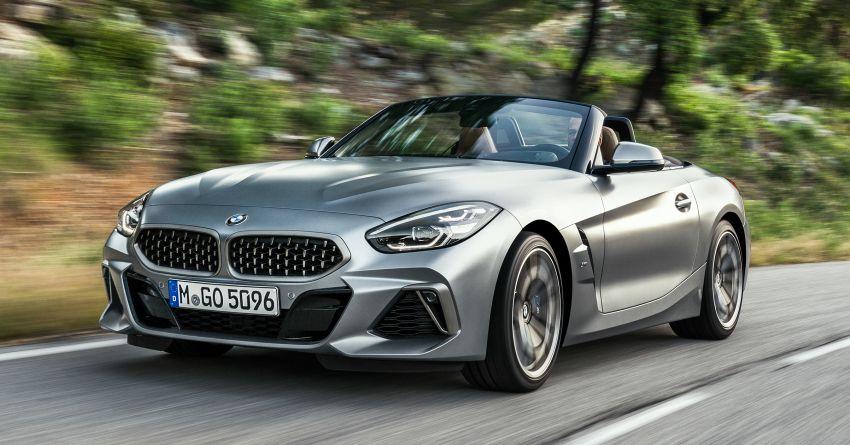 BMW Z4 G29 2019 – info penuh didedah, tiga varian Image #863030