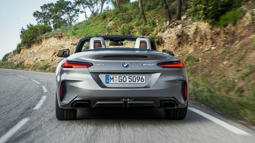BMW Z4 G29 2019 – info penuh didedah, tiga varian Image #863032