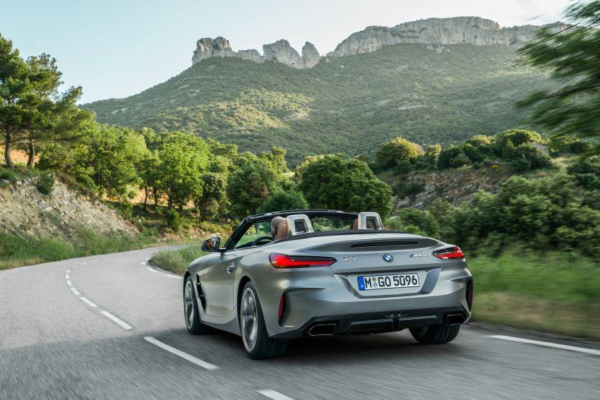 BMW Z4 G29 2019 – info penuh didedah, tiga varian Image #863033