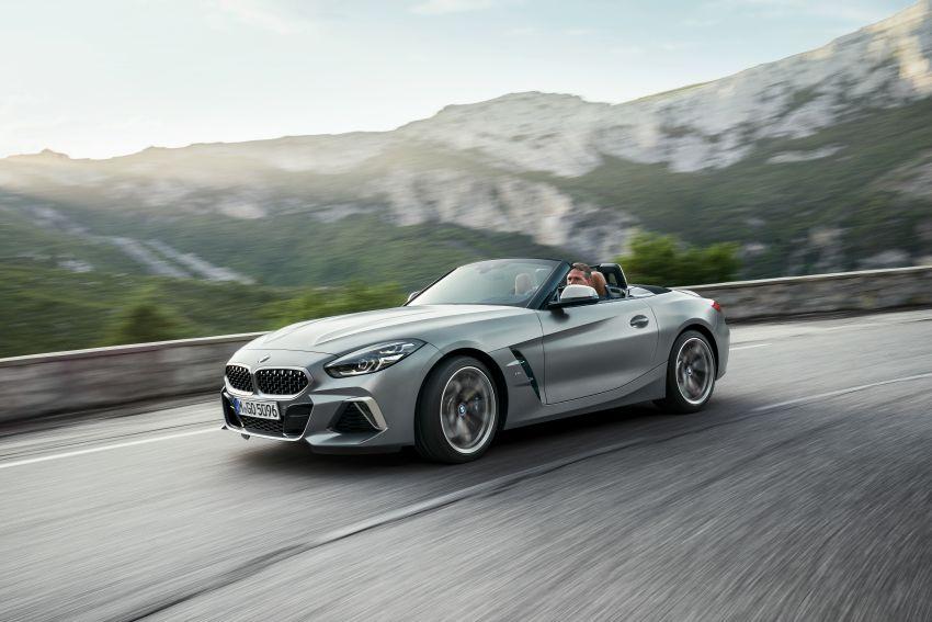 BMW Z4 G29 2019 – info penuh didedah, tiga varian Image #863035
