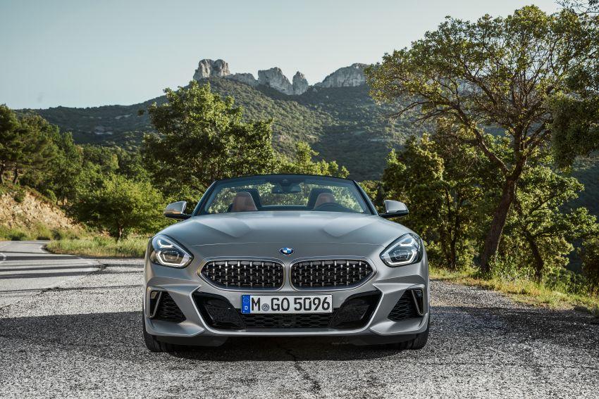 BMW Z4 G29 2019 – info penuh didedah, tiga varian Image #863036