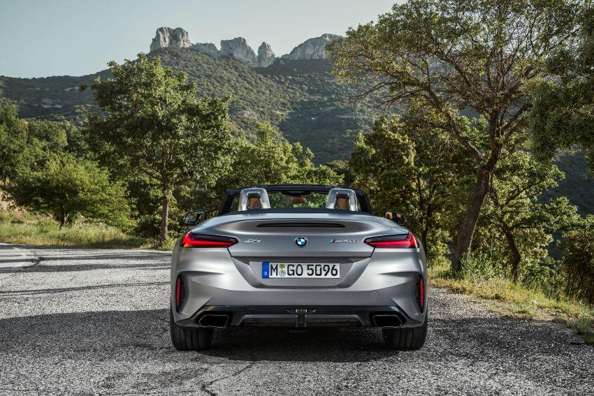 BMW Z4 G29 2019 – info penuh didedah, tiga varian Image #863038