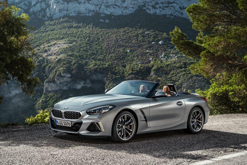 BMW Z4 G29 2019 – info penuh didedah, tiga varian Image #863042