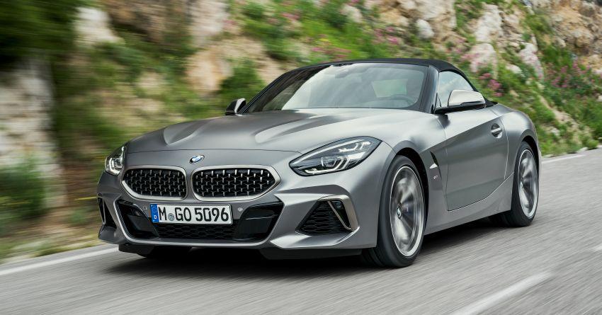 BMW Z4 G29 2019 – info penuh didedah, tiga varian Image #863051