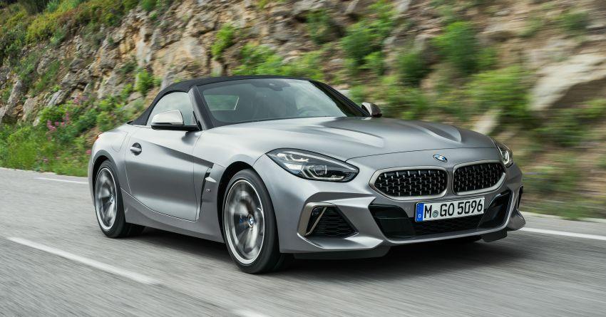 BMW Z4 G29 2019 – info penuh didedah, tiga varian Image #863052