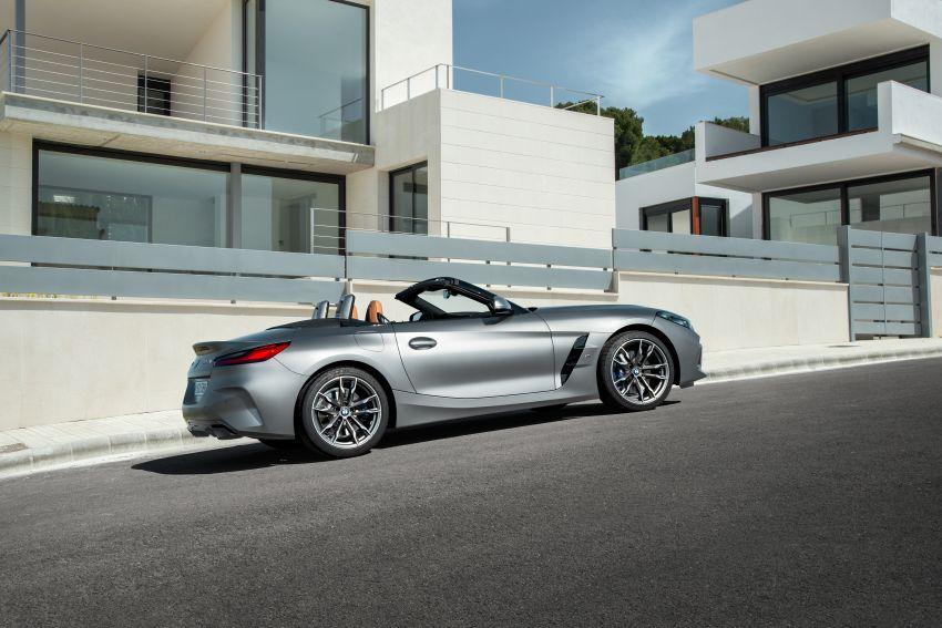 BMW Z4 G29 2019 – info penuh didedah, tiga varian Image #863056