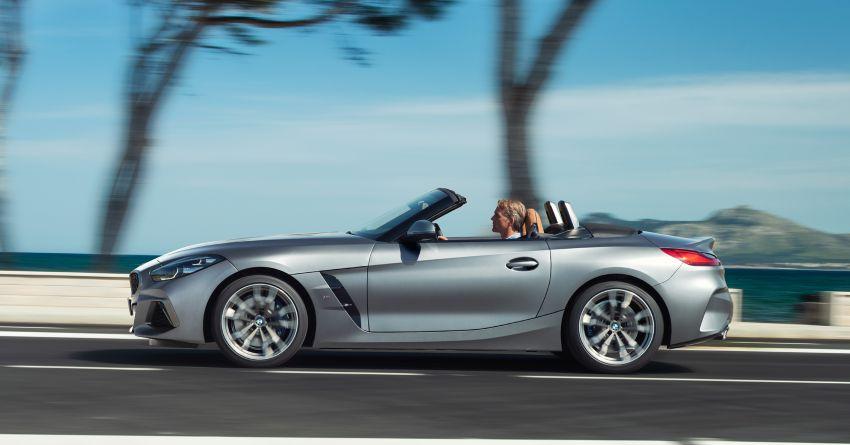 BMW Z4 G29 2019 – info penuh didedah, tiga varian Image #863060