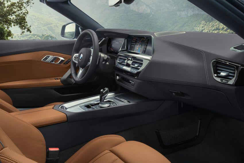 BMW Z4 G29 2019 – info penuh didedah, tiga varian Image #863067