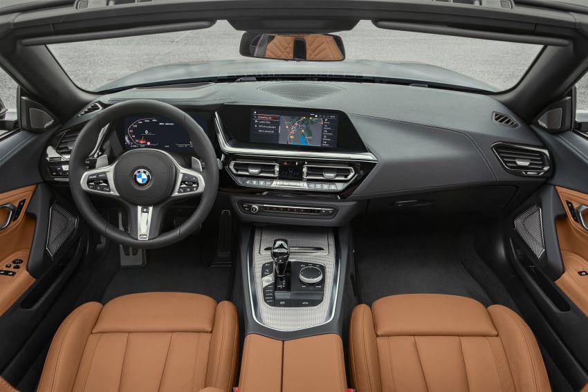 BMW Z4 G29 2019 – info penuh didedah, tiga varian Image #863069