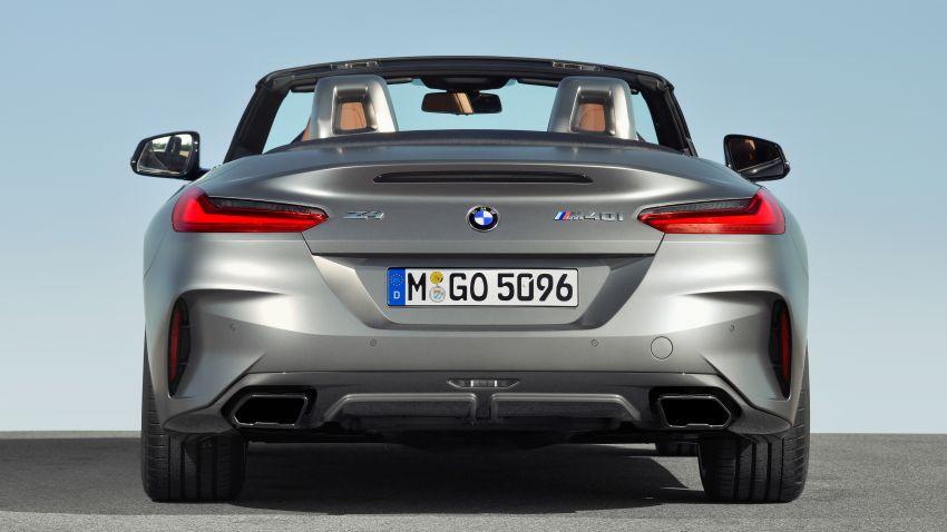 2019 G29 BMW Z4 – full details released, three variants Image #862771