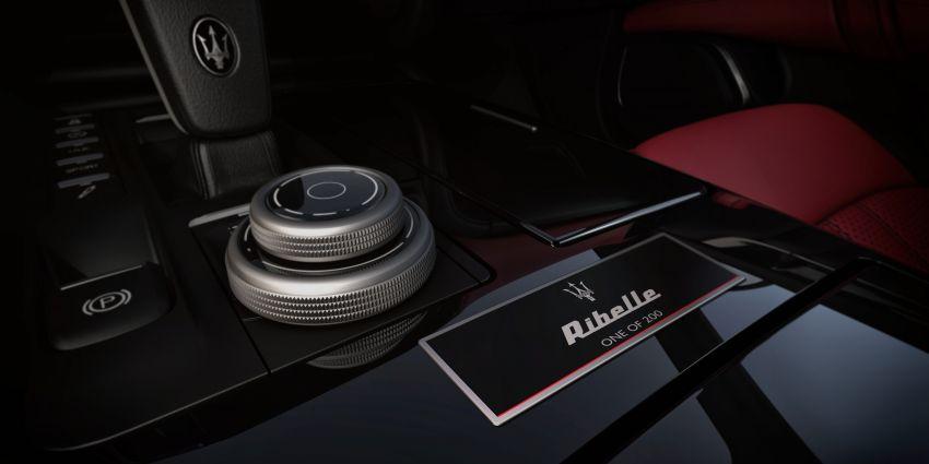 Maserati Ghibli Ribelle – 200 unit untuk pasaran EMEA Image #865416