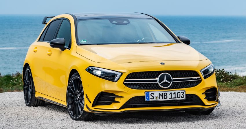Mercedes-AMG A35 4Matic debuts – 306 hp, 400 Nm! Image #862367