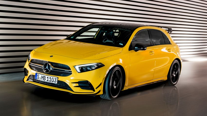 Mercedes-AMG A35 4Matic debuts – 306 hp, 400 Nm! Image #862380